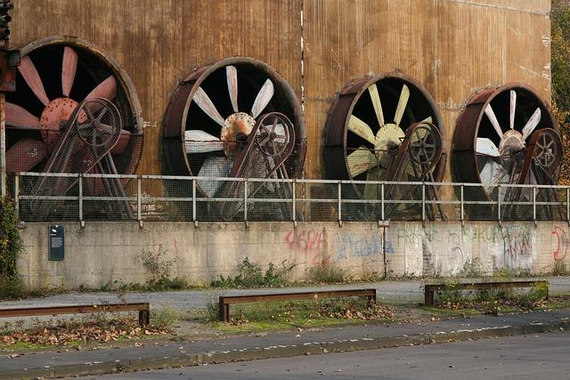 Industrial Park, Factory, Heavy Industry, Steel