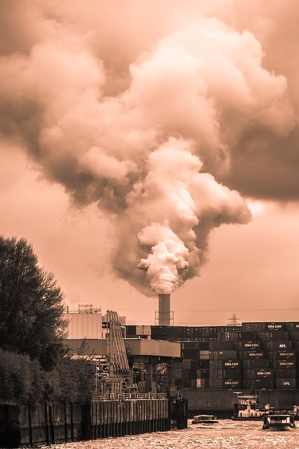 Chimney, Smoke, Industry, Pollution, Industrial Plant