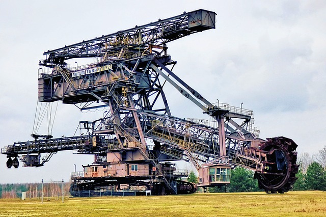 Bucket Wheel Excavators, Machine, Industry