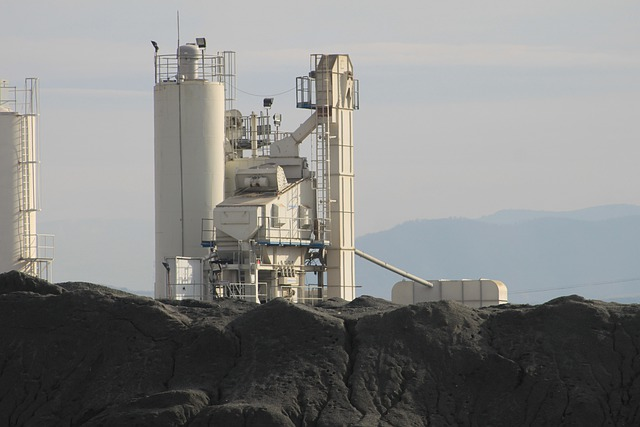 Industry, Building, Dump, Raw Materials