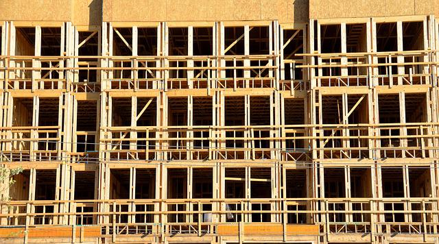 Construction, Industry, Building, Wood, Industrial