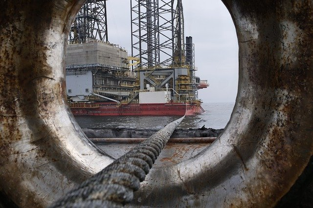 Oil, Drilling, Petrochemical Industry, Industry