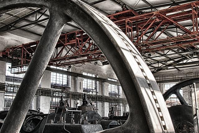 Wheel, Drive, Mechanics, Machine, Industry, Engine