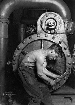 Mechanic, Mechanics, Industry, Force, Muscles, Workers