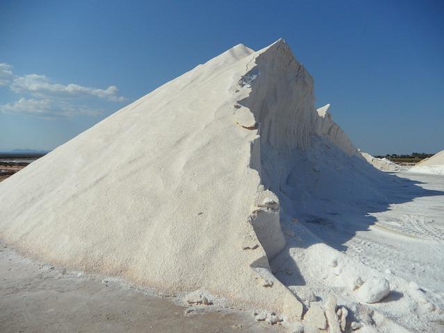 Salt, Salzberg, White, Salt Pans, Sea Salt, Industry