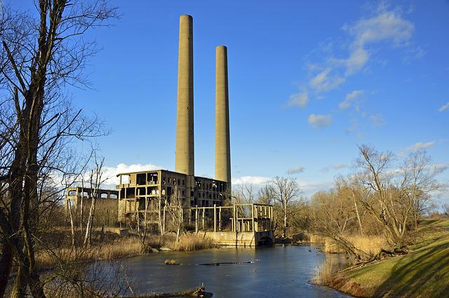 Power Plant, Ruin, Werner Works, Industry