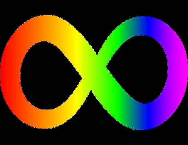 Symbol Of Infinity Of Autism, Infinity Logo For Autism