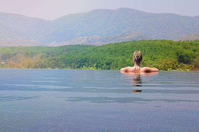 Chiang Rai, Thailand, Infinity Pool, Swimming Pool