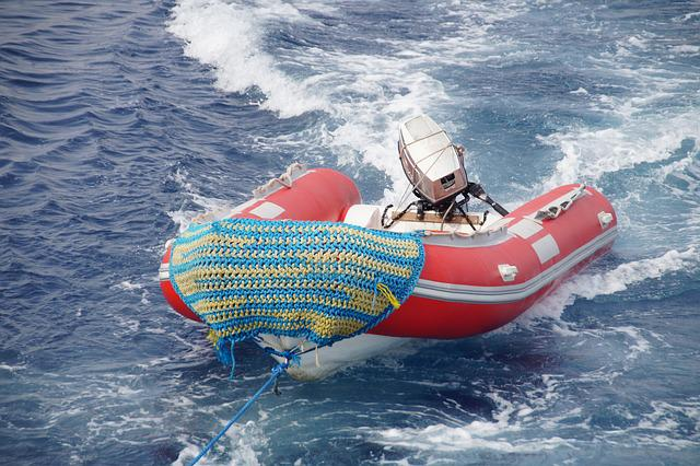 Boat, Inflatable Boat, Sea, Motor, Rubber Boat