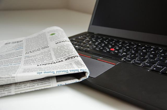 News, Newspaper, Computer, Read, Information, Paper