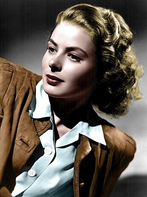 Ingrid Bergman, Woman, Vintage, Colors, 40 's