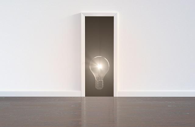 Idea, Innovation, Business, Way, Strategy, Plan, Door