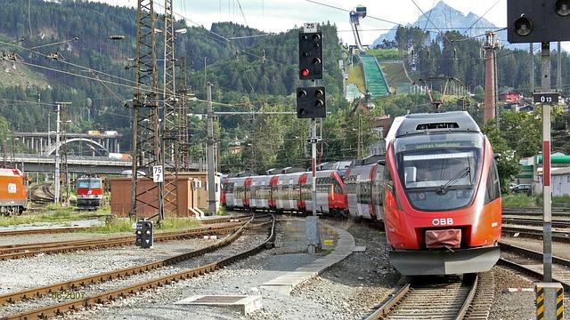Innsbruck, Central Station, Electrical Multiple Unit