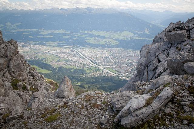 Innsbruck, City, Tyrol, Austria, Mountains, Summer