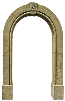 Archway, Sand Stone, Input, Natural Stone, Portal