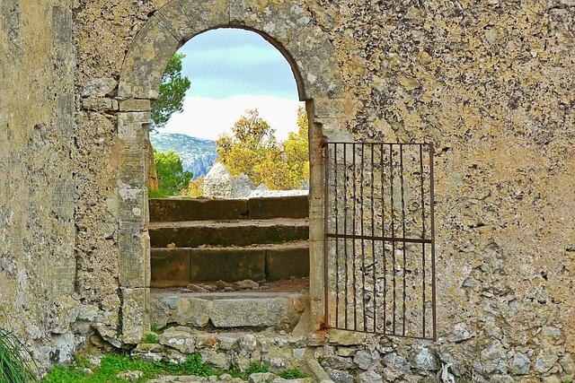 Goal, Door, Input, Gate, House Facade, Architecture