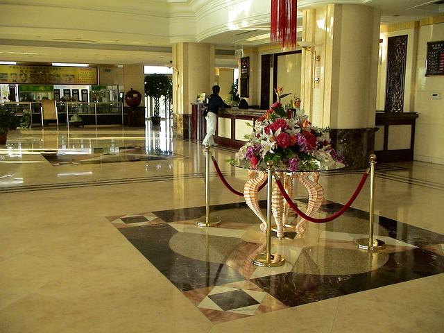 Reception, Hotel, Entrance Hall, Input Range, China