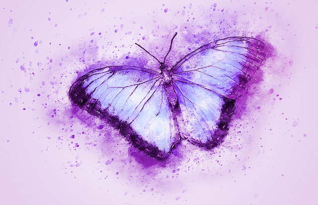 Butterfly, Insect, Flying, Art, Abstract, Watercolor