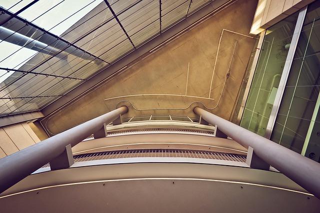 Architecture, Interior Design, Inside, Building, Modern