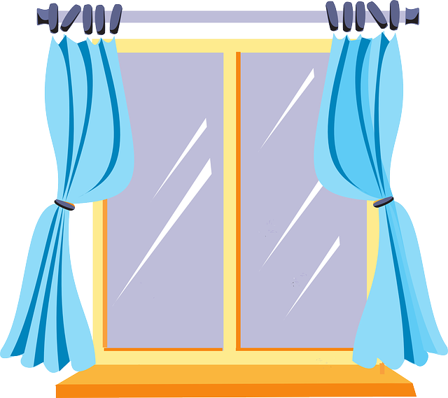 Window, Curtains, Inside, Home, Blinds, Drapes