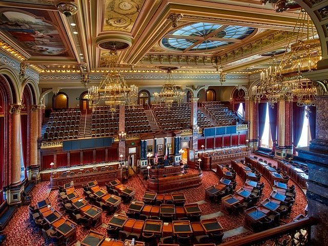 Des Moines, Iowa, State Capitol, Inside, Interior