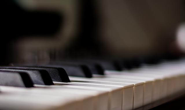 Piano, Blurred, Music, Instrument, Blur, Musical