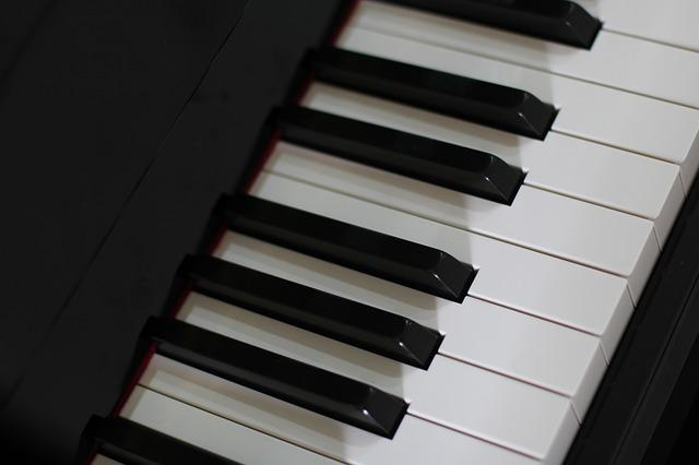 Piano, Instrument, Sound, Ivory, Metal Key