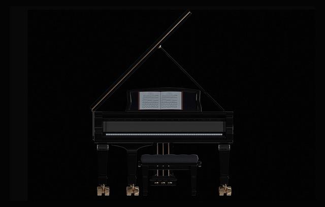 Piano, Wing, Keys, Classic, Instrument