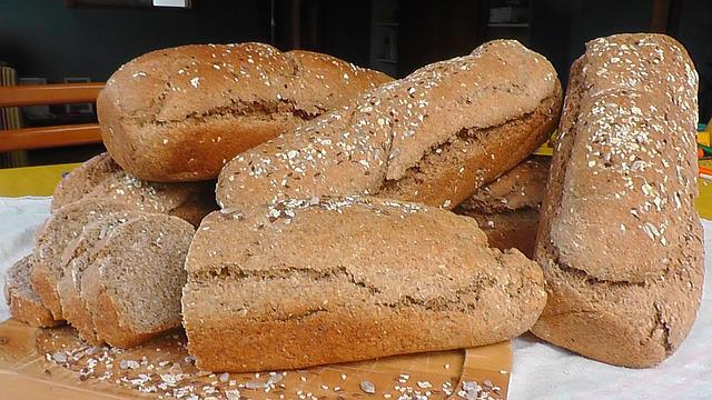 Bread, Wholemeal Bread, Integral, Healthy Nutrition