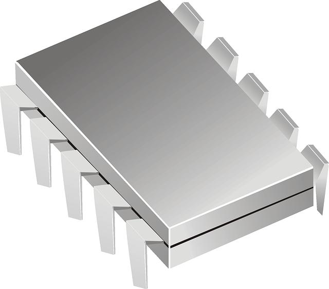Microchip, Computer, Electronics, Integrated Circuit