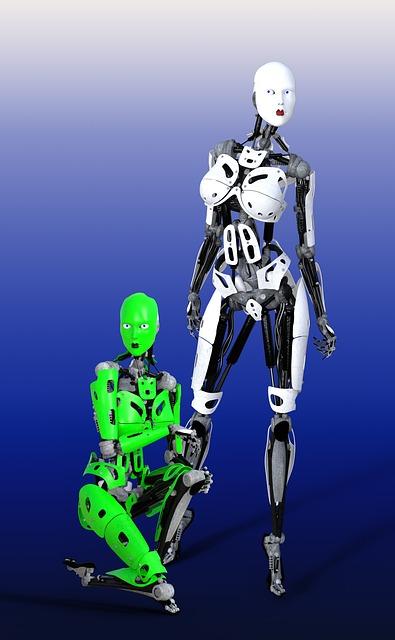 Robot, Cyborg, Artificial, Bionic, Intelligence