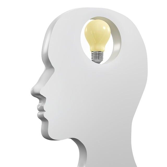 Lightbulb, Female, Head, Intelligence, Light