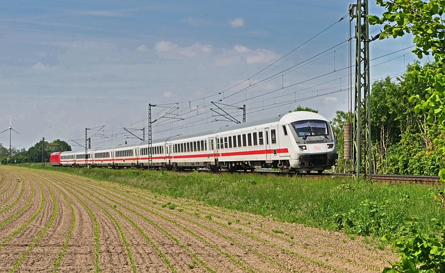 Intercity, Ic, Deutsche Bahn, Tax Car