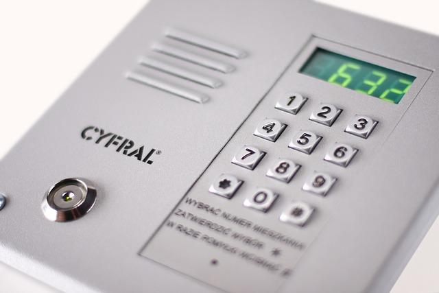 Intercom Control Panel, Intercom, Safety