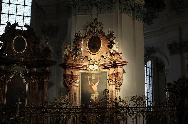 Cathedral, Interior, Icon, Jesus Christ, Crucifixion