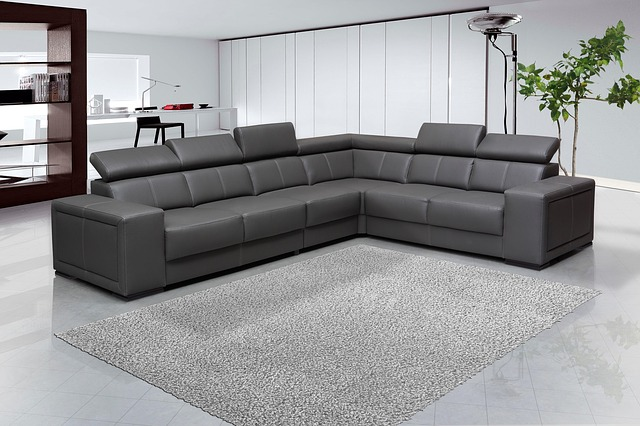Sofa, Interior Design, Leaving Room, Furniture, Gray