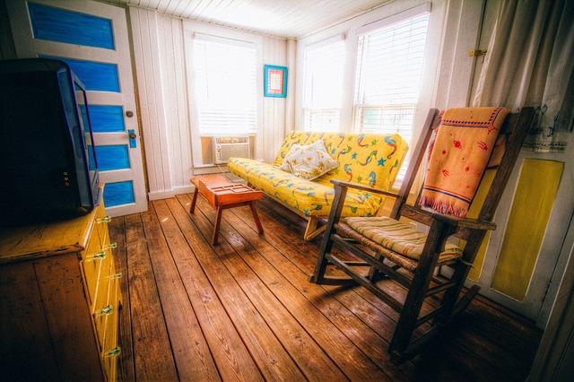 Rocking Chair, Livingroom, Living Room, Interior Design