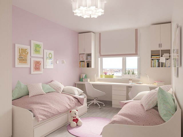 Children Girls, The Little Girl's Room, Interior