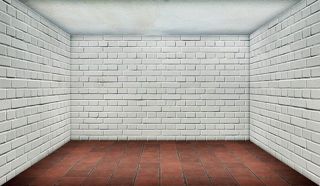 Space, Empty, Brick, White, Interior, Tiles