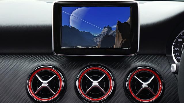 Car, Mercedes, Vehicle, Interior, Automobile