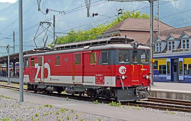 Switzerland, Interlaken, Eastern Railway Station, Hbf