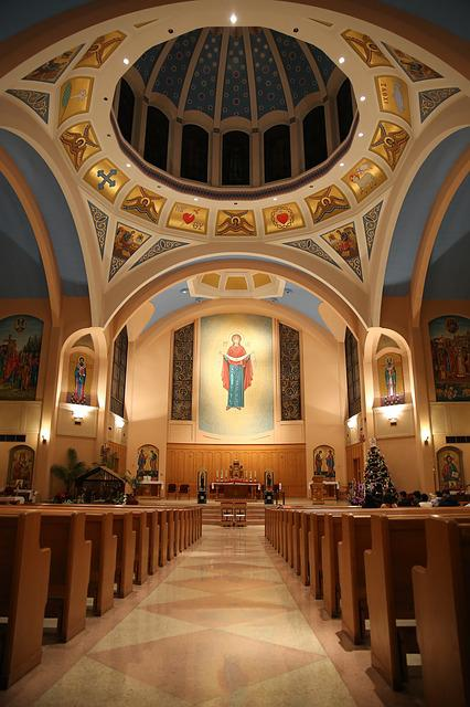 Cathedral, Canada, Vancouver, In The Church, Internal