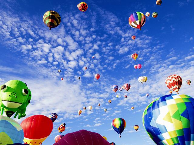 Balloon Fiesta, Albuquerque, New Mexico, International