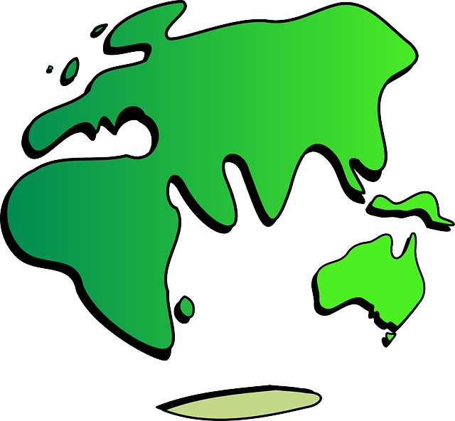 Continents, Globe, Earth, Planet, International