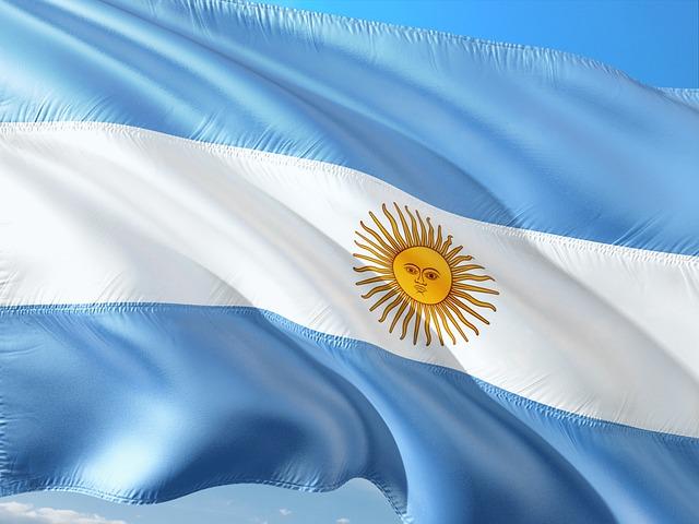 International, Flag, Argentina