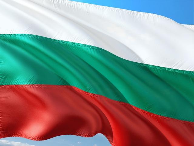 International, Flag, Bulgaria