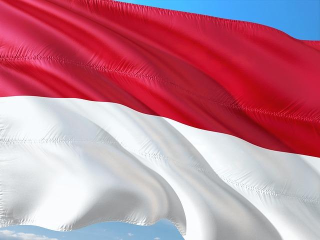 International, Flag, Indonesia
