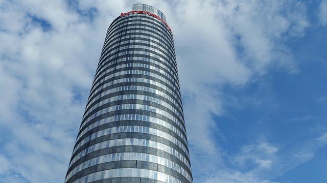 Tower, Intershop Tower, Skyscraper, Architecture