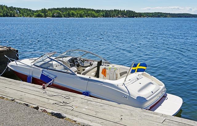 Powerboat, Leisure, Investors, Archipelago, Baltic Sea