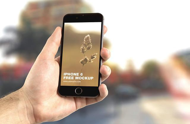 Apple, Iphone, Iphone 6, Mockup, Hand, App, Modern